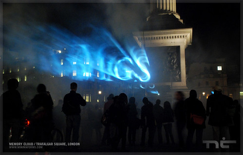 Memory Cloud, Trafalgar Square