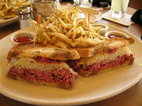 Salt Creek Grille Reuben