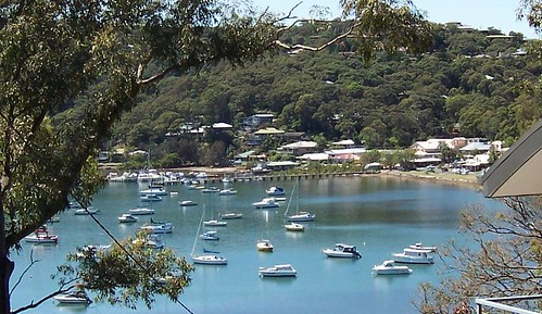 Bustling Downtown Hardys Bay from Heath Road Hardys Bay