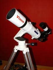 Vixen ED80sf Telescope on Vixen Porta-Mount