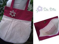 Bolsa po de estrelas n2 (Da Bia) Tags: handmade flor artesanato craft estrelas fuxico bolsa po dabia