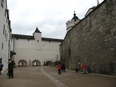 Inside the walls of Festung Hohensalzburg