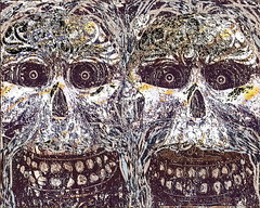 the horror's (artyfishal44) Tags: art artistic outsider expression dry horrors havoc colourartaward halloween2008 stealingshadows awardtree posssession