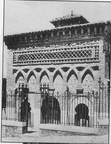 Mezquita del Cristo de la Luz (Toledo), a principios de siglo. Foto Blanco y Negro