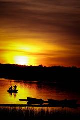 Sun Setting Bass Fishing (Insight Imaging: John A Ryan Photography) Tags: sunset toronto ontario fishing bass potofgold pentaxistdl justpentax wwwinsightimagingca johnaryanphotography