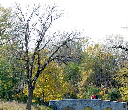 Bridge & Couple Silver Lake Rochester MN