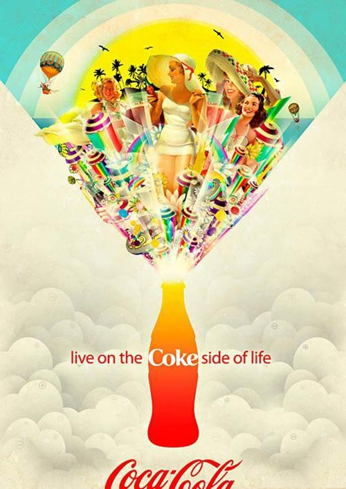 Coke Side Of Life by Matei Apostolescu