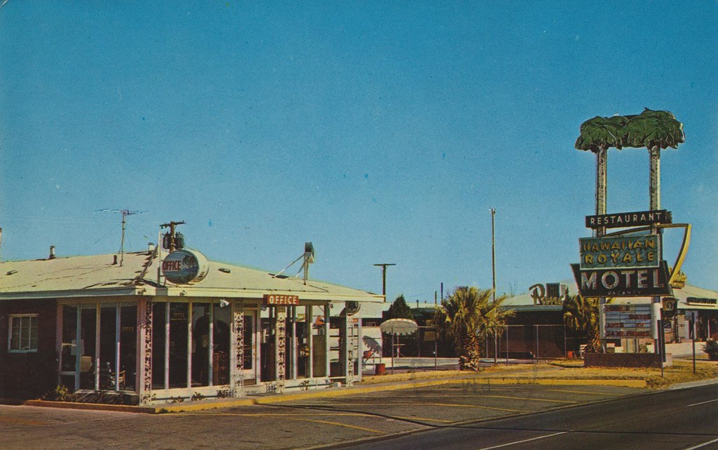 Hawaiian Royale Motel - El Paso, Texas