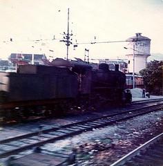 1975-081713 (bubbahop) Tags: railroad italy train florence railway trainstation 1975 firenze locomotive europetrip1