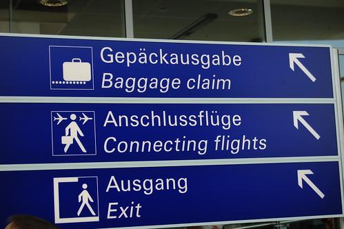 Paso 8 - Escala en Frankfurt