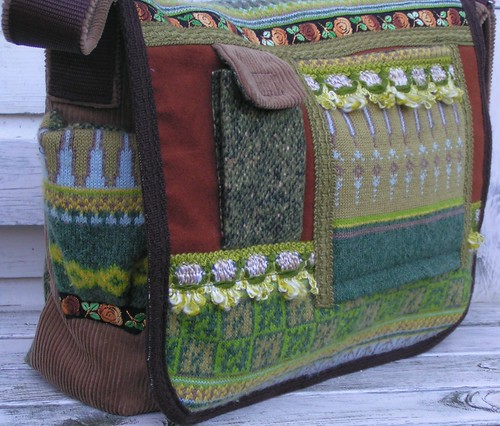 messenger bag, 'maple leaf'