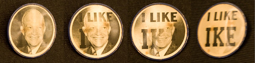 I LIKE IKE Button