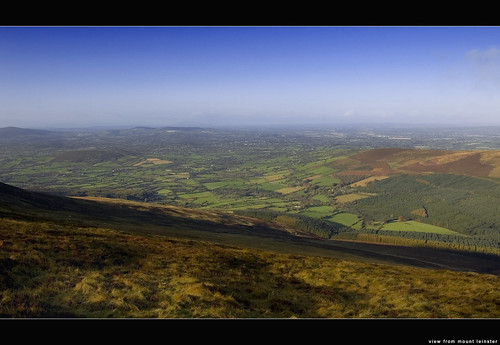 View from Mount Leinster