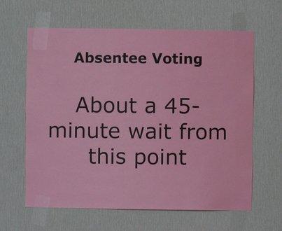 Arlington County - 45 minute wait