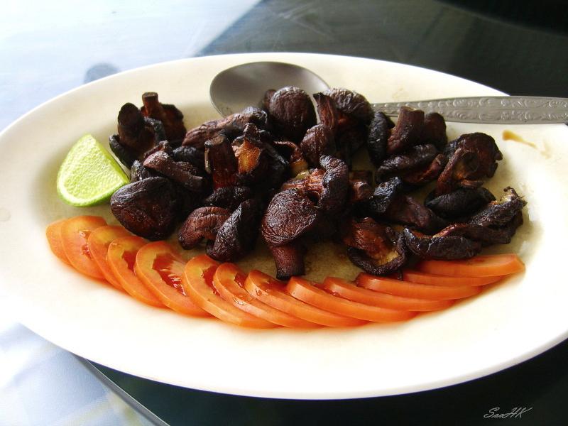 Chiang Rai - Food Series - Fried Mushroom
