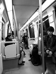 Au metro de Toulouse (Miguel P Teixeira) Tags: bw cities transportation transports toulouse midi 31 midipyrénées