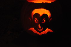 Drac-O-Lantern at Night