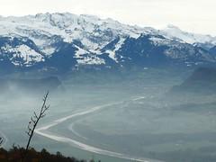Vista desde Triesenberg (Liechtenstein)
