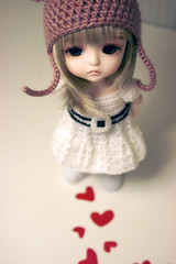 way back into love (Inoue_Orihime) Tags: cute love yellow toy doll crochet korean lea bjd resin lati simplykir waybackintolove