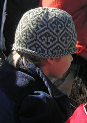 Turkish Pattern Cap in use