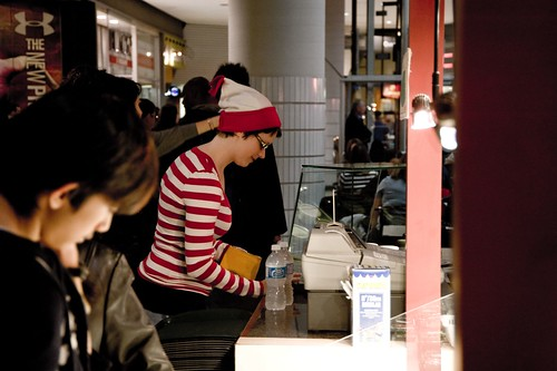 Waldo at Starbucks