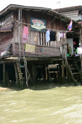 River shack
