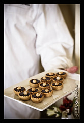 hazelnut-chocolate pastries by Ledio