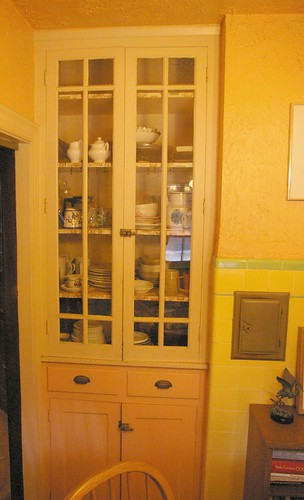 Built in cabinets, breakfast nook