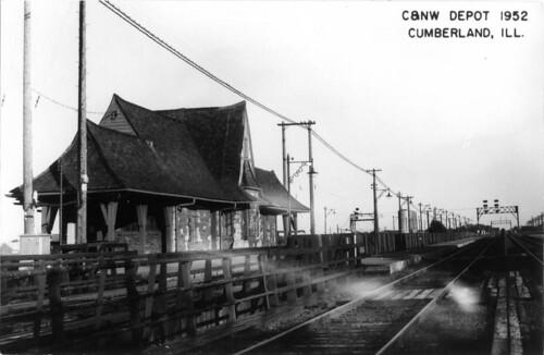 Cumberland Station 1952
