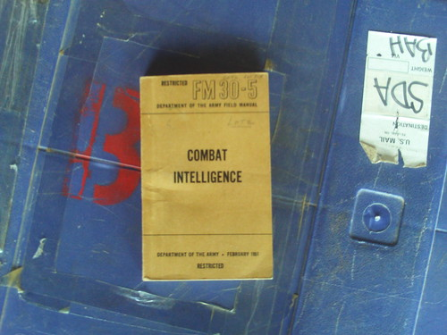 Field Manual 30-5, Combat Intelligence, February 1951