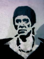 montana_stencil (EL.B) Tags: street art stencil montana tony bh scarface