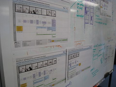 UX Swimlanes (mastermaq) Tags: events banff conferences userexperience mastermaq canux canux08 uxswimlanes