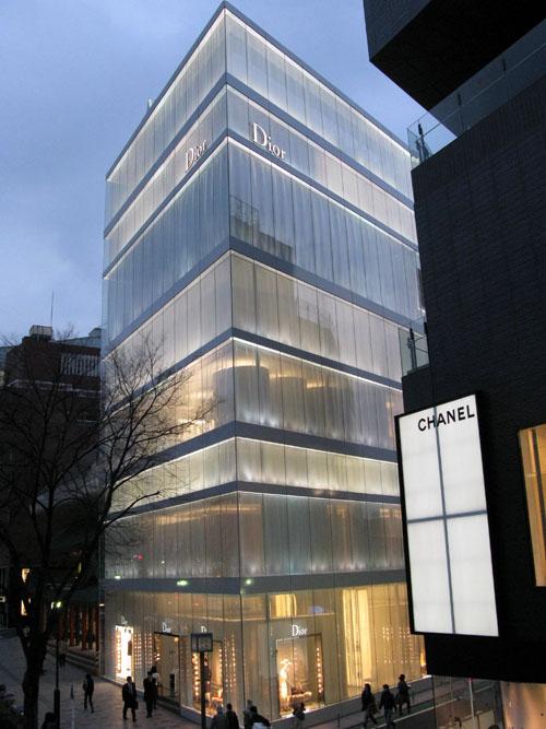 dior building in omotesando