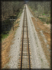 Tracks of Time (Cooks Forest) Tags: railroad usa nature architecture train canon landscape track diesel traintracks el steam locomotive erie engineer route219 erierailroad salamancany httpcooksforestnet
