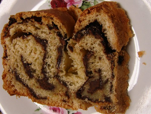 Chocolate Cinnamon Babke