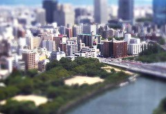 ミニチュアな写真1--Fake tilt shift photography