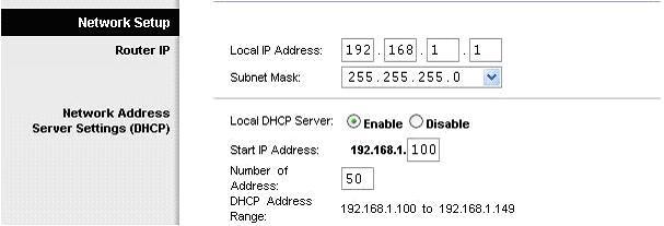 Router A configuration