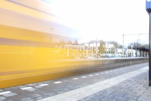 Trein, Sneller dan de conductuer (c) ~ Joëlle