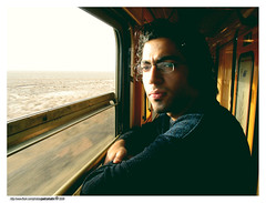 Payam in Train (pedramatic) Tags: travel portrait train iran brother mashhad esfahan isfahan payam      pedramatic mashhadisfahan iranstrains
