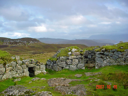 Inside Dun Breag Broch