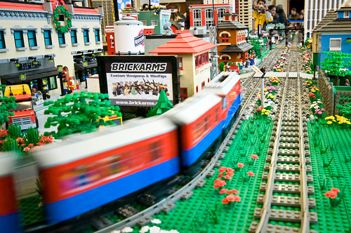 Train Spotting at Lego Land