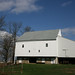 Amish White Barn