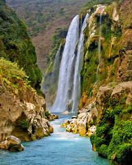 Cascada de Tamul - La Huasteca Potosina (Nino H) Tags: water rio méxico river mexico waterfall eau mexique cascade cascada slp huasteca sanluispotosi tamul