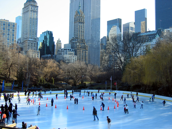 Skaters in Central Park (Click to enlarge)