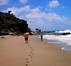 Laguna Beach (skookums 1) Tags: ocean california family vacation beach scenery scenic footprints roadtrip magicmoments lagunabeach 2007 smörgåsbord photographyrocks skookums flickraward excapture