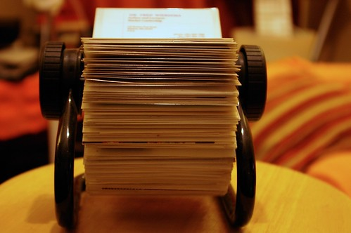Rolodex by renaissancechambara.