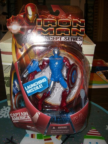 Ironman Concept: Captain America
