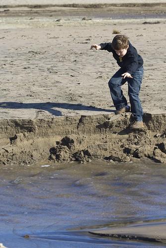 """Roger Crumbling Sandy """"Cliffs"""""""