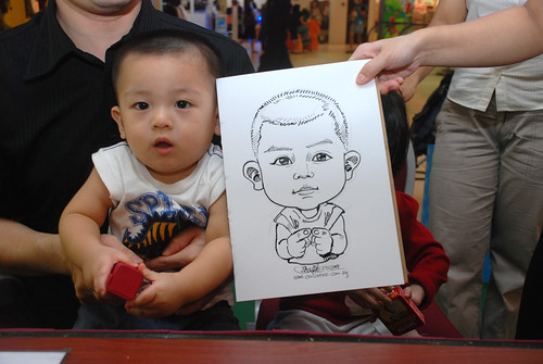 Caricature live sketching for Marina Square Day 2 - 9