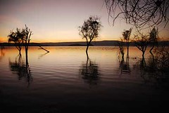 Sunrise on Lake Baringo